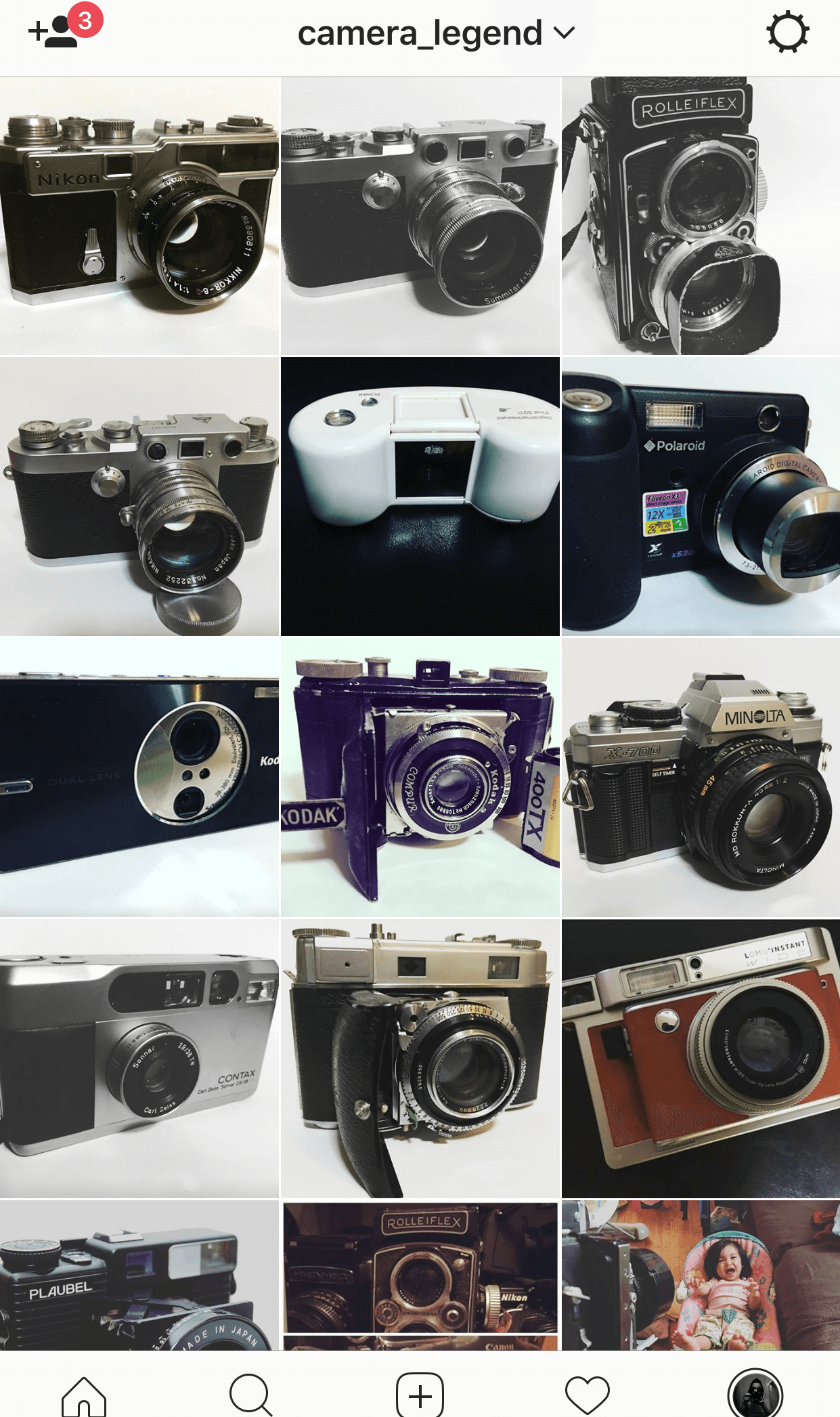 """""""Camera Legend's Lair"""" Just a sampling. It is rumored that there are many more interesting items in the vault :-)"""